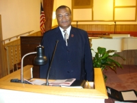 Dea. Curtis Heggins, Sunday School Superintendent