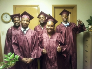 Left to Right: Marvin Clay, Keldric Collins, Billy Collins, Laqulia Collins, Stacy Broadnax, (Not Pictured)Nora Coats