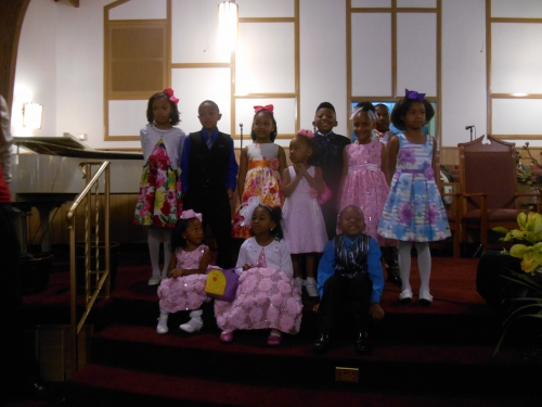 Easter Speech Group 2014